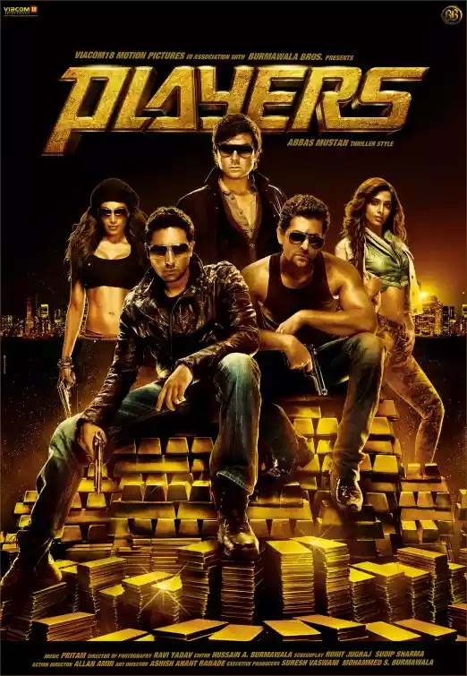 Players (2012) Hindi Movie Blu-ray 480p 720p