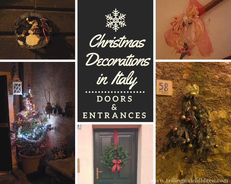 Italian Christmas Decorations Sale