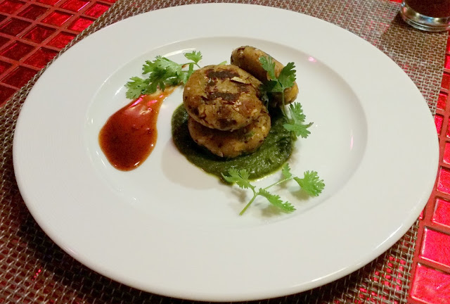 Cheddar Cheese Shammi Kabab
