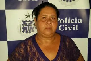 Suspeita de ordenar morte de mãe é presa na Calçada