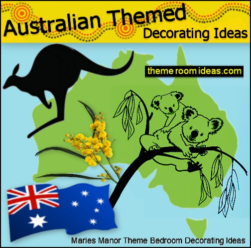 australian themed decorating ideas koala bedrooms outback themed playrooms sydney city bedroom ideas