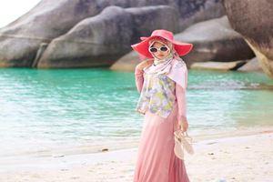 Tips Memilih Baju yang Cocok untuk ke Pantai Bagi Hijabers