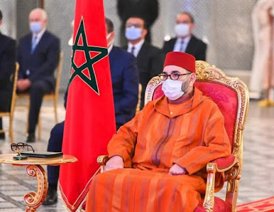برقية تهنئة من الملك محمد السادس نصره الله  إلى نفتالي بينيت بمناسبة انتخابه رئيسا للوزراء بدولة إسرائيل
