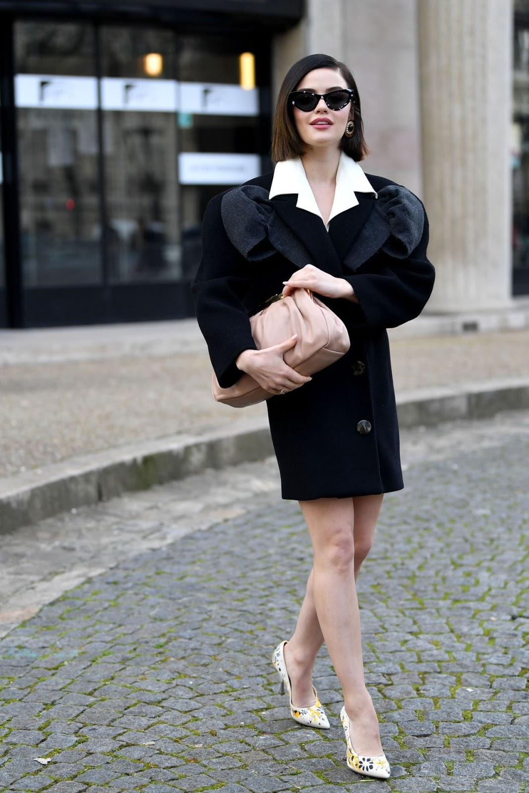 Lucy Hale - Miu Miu Fashion Show in Paris 03/03/2020