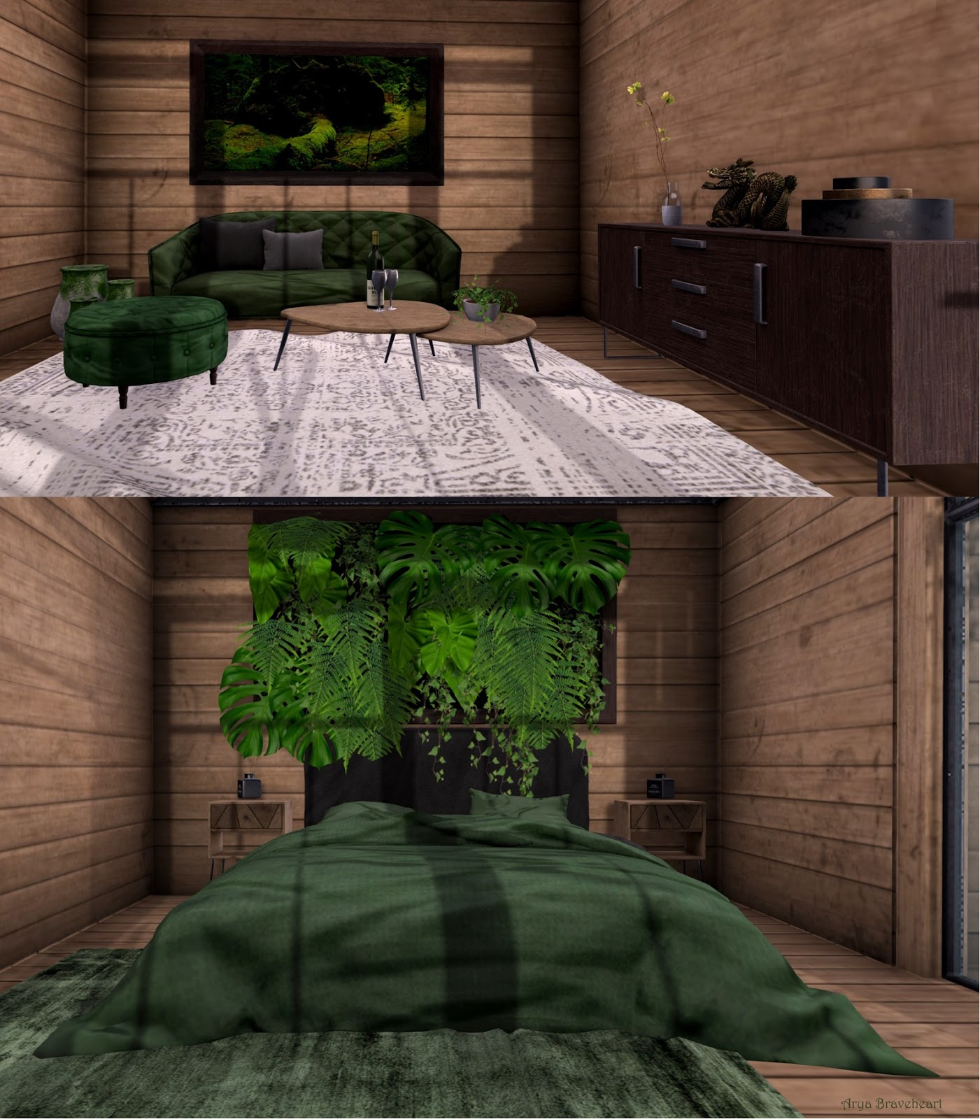 Inside the Cabin in the Woods