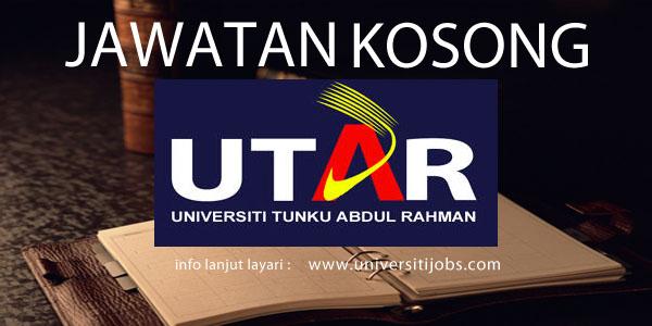 Jawatan Kosong Tunku Abdul Rahman University-Management/Administrative Positions 2016