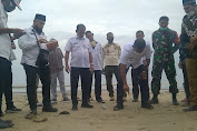 Bupati Aceh Timur Tinjau Lokasi Pembangunan Shrimp Estate