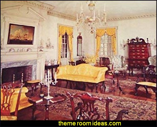 Colonial period Early American rooms decorating early americana style