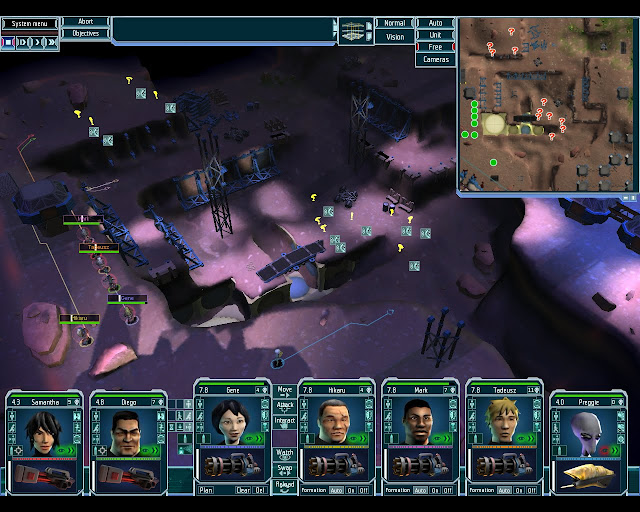 UFO Afterlight Defending Mars stations