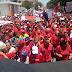 Gobernador Marcos Torres junto a Diosdado Cabello en la gran marcha efectuada el día de hoy en Maracay