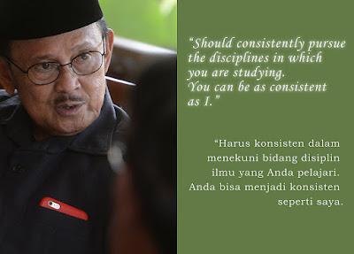 quotes kata mutiara bahasa inggris dari bj habibie tentang belajar