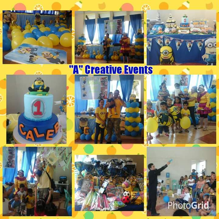 Minions birthday party theme davao city
