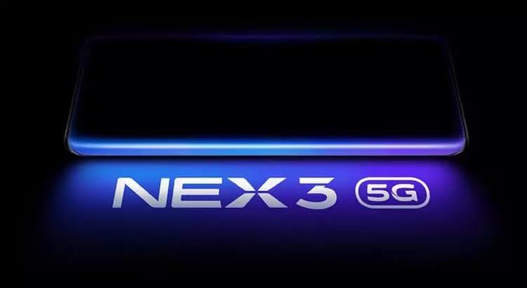 Vivo NEX 3 5G Now Official