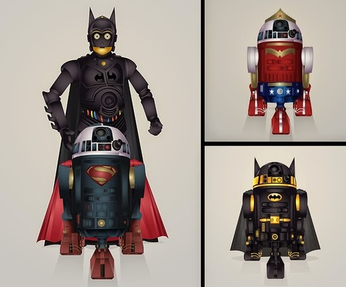 00-Steve-Berrington-Batman-v-Superman-and-their-Superhero-R2-D2-Friends-www-designstack-co