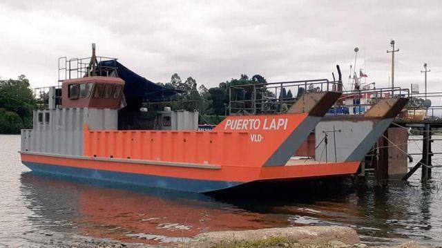 Embarcación para Llancacura