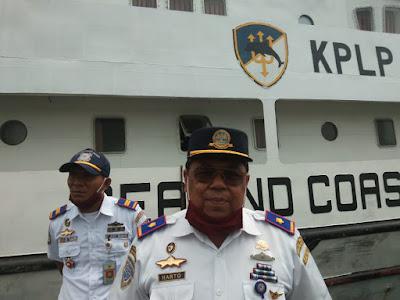 Kepala Pangkalan Penjagaan Laut dan Pantai (PPLP) Kelas 2 Tual Harto S.Mn