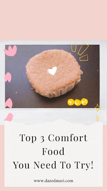 Food Diary, Comfort Foods