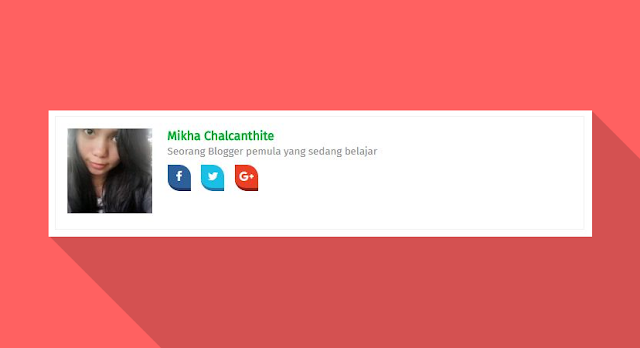 Cara Membuat Author Box dengan Social Media Buttons