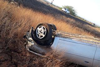 Motorista morre após capotamento na BR-230