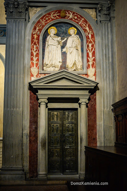 Sagrestia Vecchia San Lorenzo, Donatello