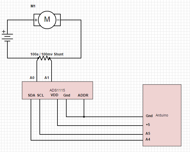Reading a Current Shunt with an Arduino - Circuit Crush