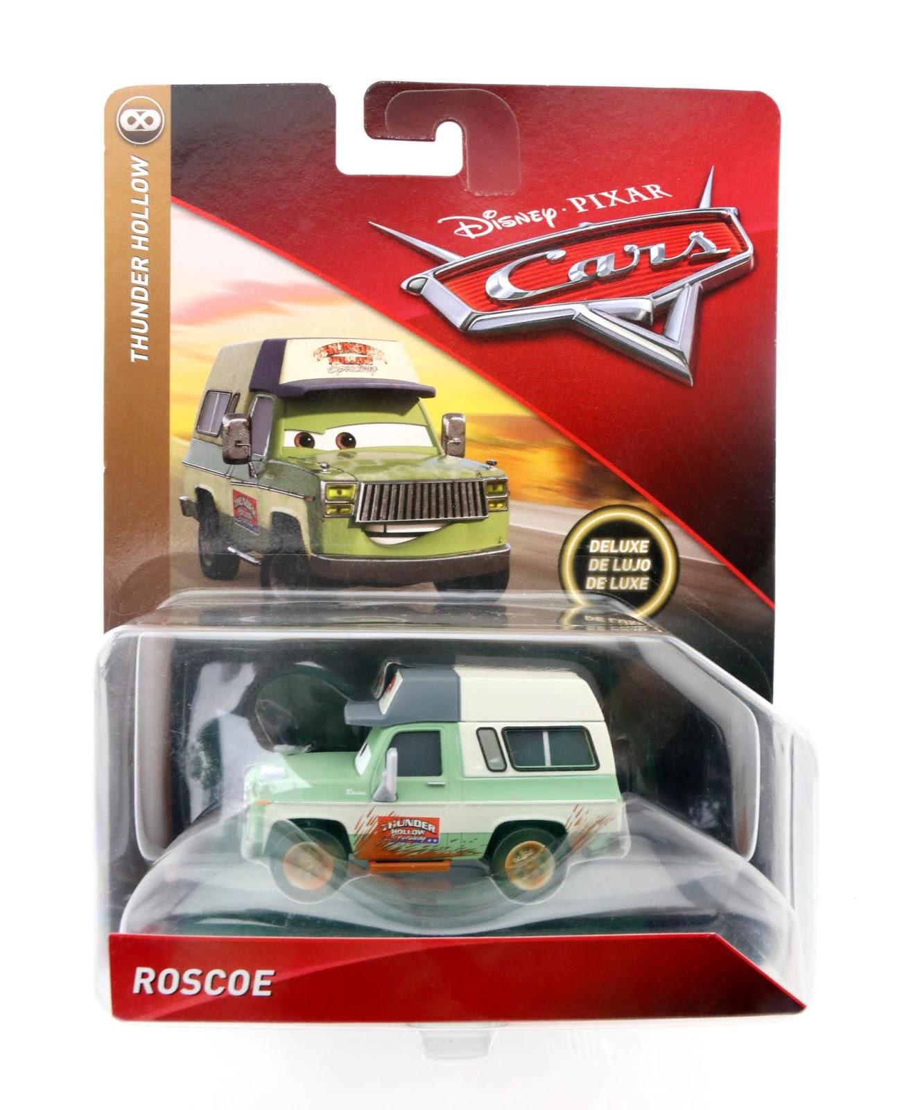 Cars 3 Mattel Roscoe Deluxe diecast