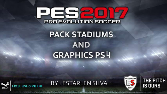 Stadium Pack + Graphics PS4 PES 2017