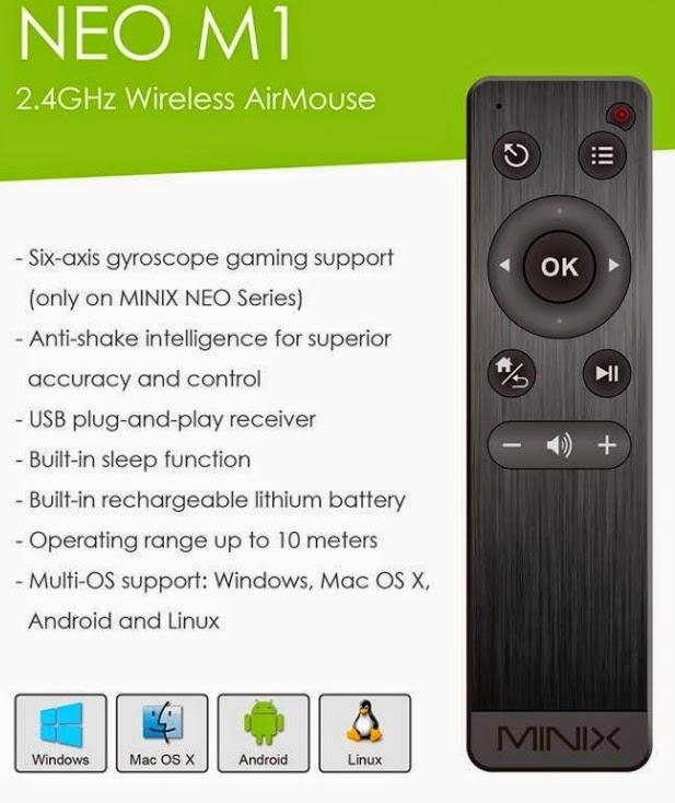 Hardware & Software Useful bits: Minix Neo X8H HW tinkering