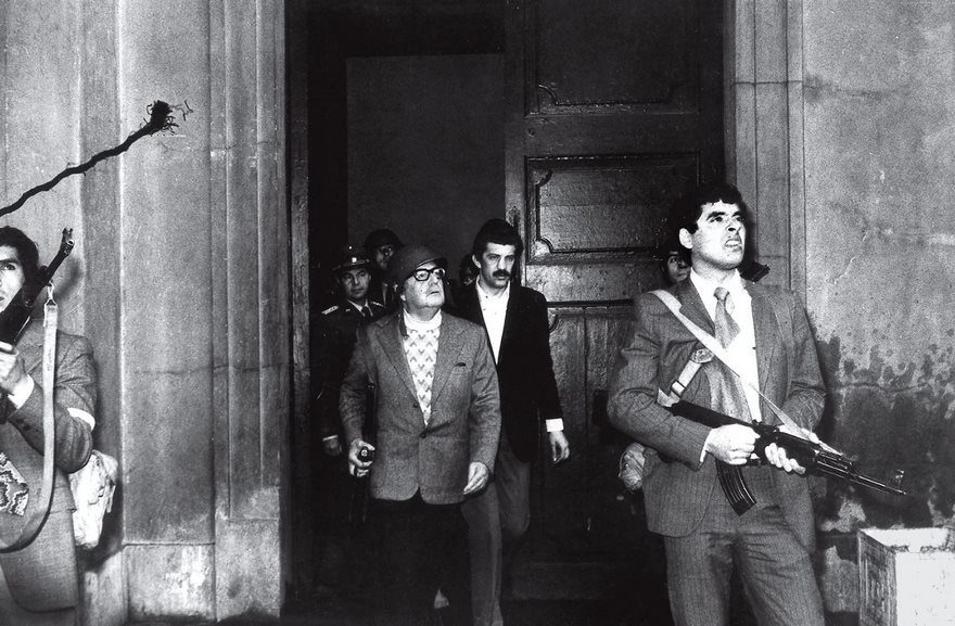 #90 Allende's Last Stand, Luis Orlando Lagos, 1973 - Top 100 Of The Most Influential Photos Of All Time