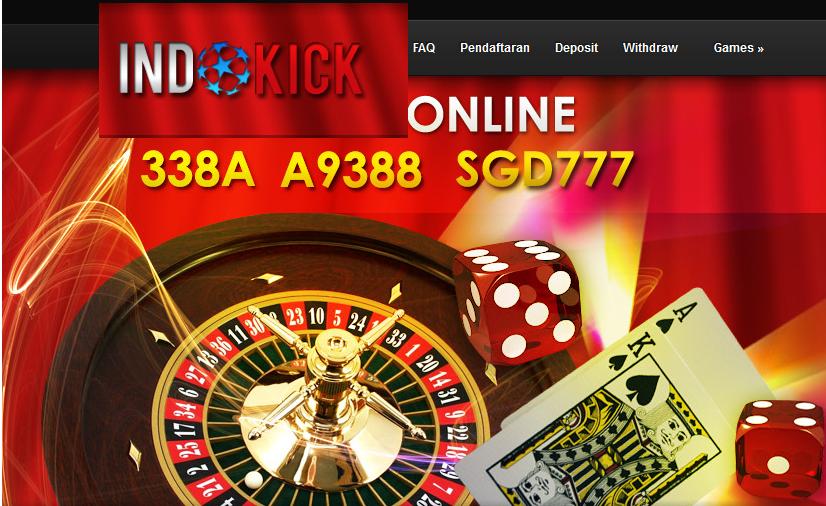 Indokick.net agen bola sbobet casino online indonesia terpercaya