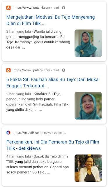 Viral Siti Fauziah Bu Tejo Tilik, Karakter biang gosip dengan kaum ibu-ibu