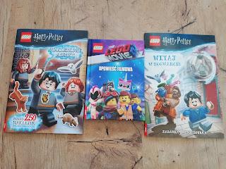Lego Movie 2, Harry Potter, witaj w hogwarcie, recenzja książki wydawnictwa Ameet
