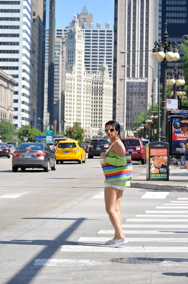 Wearing: Off Shoulder Tshirt/Camisa hombros descubiertos: SheIn Shorts/Pantalones cortos: Romwe Shoes/Zapatos: ASOS Bag/Bolso: New Dress