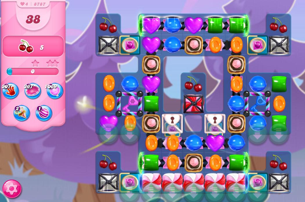 Candy Crush Saga level 8787