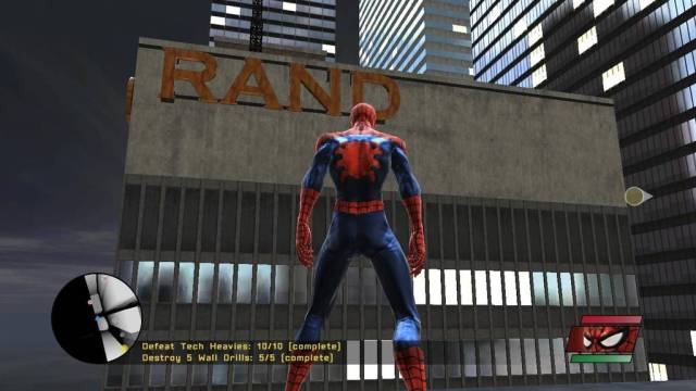 Download Spider Man Web of Shadows PC Games Gameplay