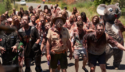 A legion of Aussie zombies from LITTLE MONSTERS.