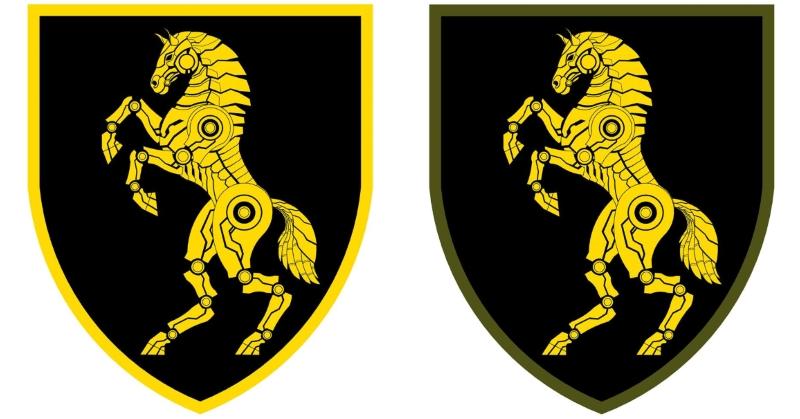 проект нової емблеми 1 танкової бригади