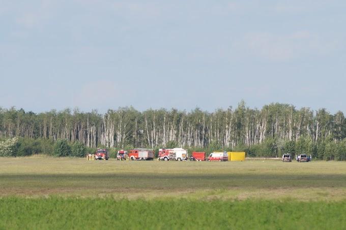 Flugzeugabsturz bei Renneritz: Pilot und zwei Jugendliche sterben