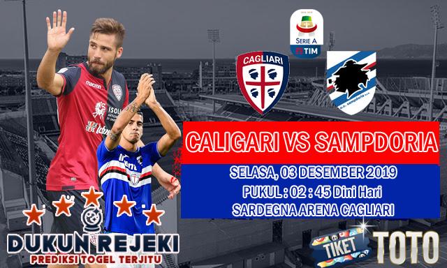Prediksi Cagliari vs Sampdoria 03 Desember 2019