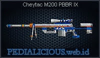 Cheytac M200 PBBR IX