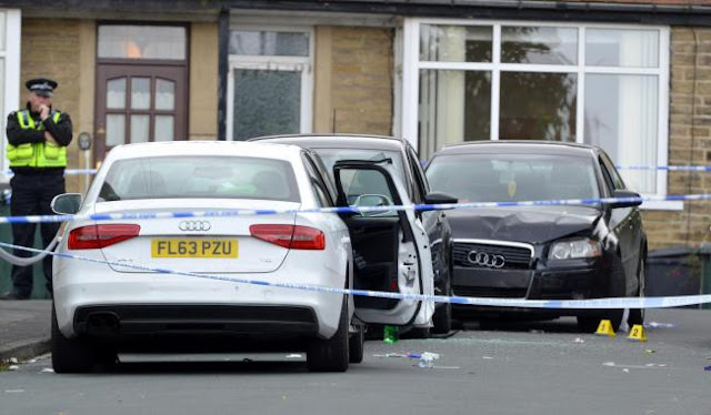 Police continue to probe gun incident in Hollybank Gardens, Great Horton, as resident compares scenes to 'action movie'