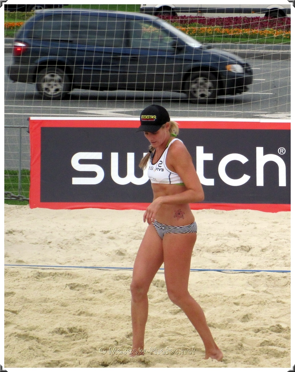 "Beach Volley Player Jennifer ""Jen"" Kessy"