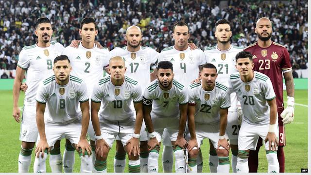 ملخص مباراة الجزائر ضد زامبيا 5 / 0