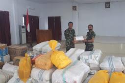 Peduli Kemanusiaan, Kodim 1412/Kolaka Salurkan Bantuan Korban Gempa Sulawesi Barat