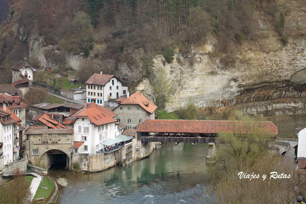Puente de Berna de Friburgo