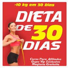 CURSO ONLINE E E-BOOK DIETA DE 30 DIAS