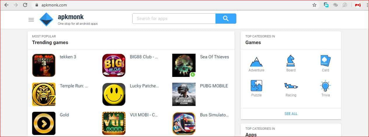 Top 20 Best Free APK Android App Download Site apkmonk