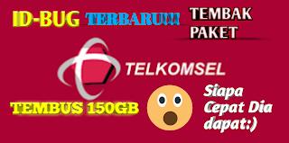 New ID-BUG Tembak Paket Telkomsel 30 Gb
