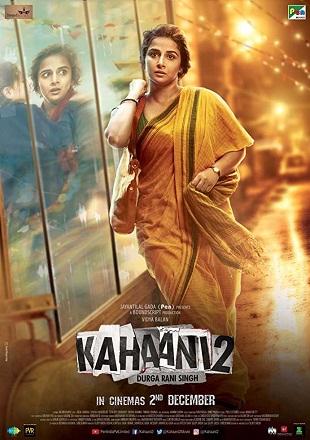 Kahaani 2 2016 Full Hindi Movie Download DVDRip 400Mb