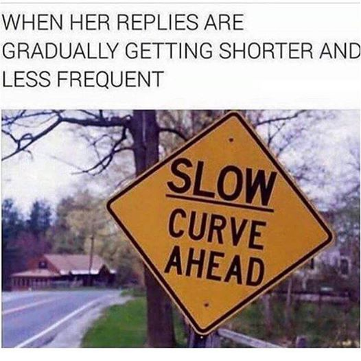 Slow curve ahead